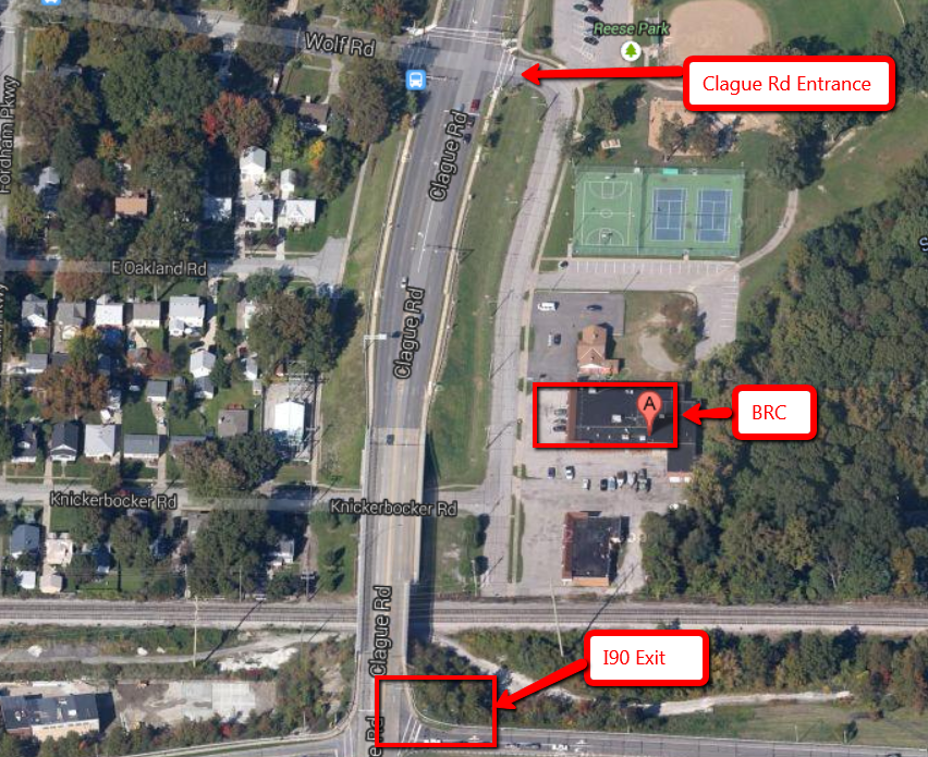 Directions to Burning River CrossFit - Bay Village, OH